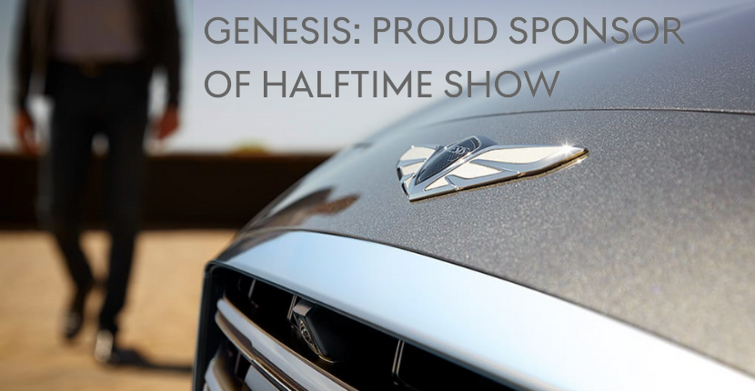 Genesis New Sponsor of Halftime Show